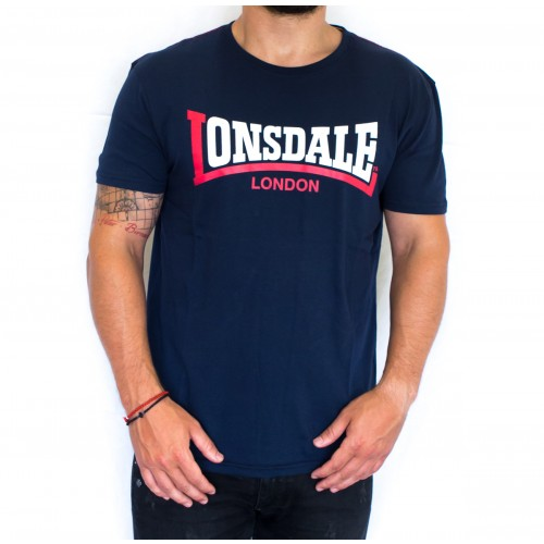 T-SHIRT LONSDALE TWO TONE