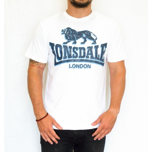 T-SHIRT LONSDALE STONE